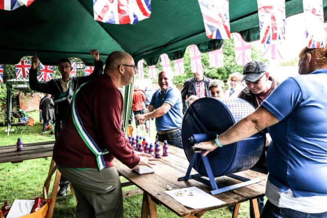 Tombola stall at the Tardebigge Fair and Show 2016