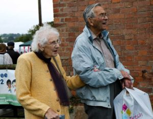 Visitors to the Tardebigge Fair and Show 2016