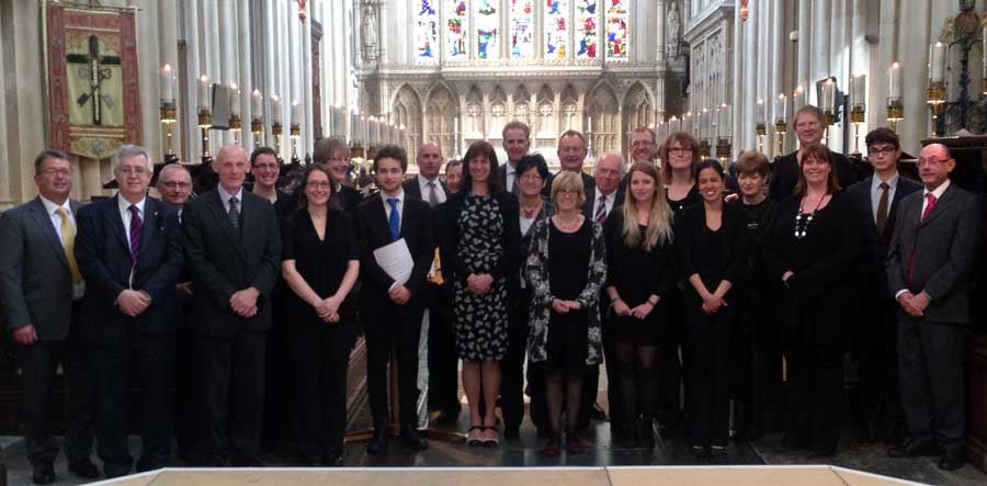 Clent Consort group photo